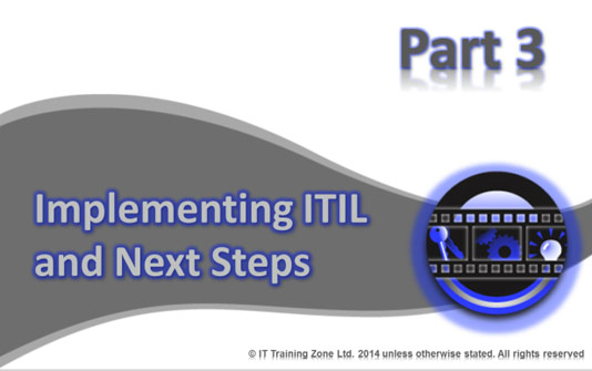 Free ITIL Training - Part 3